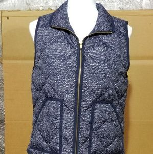 J Crewe factory  vest sz small